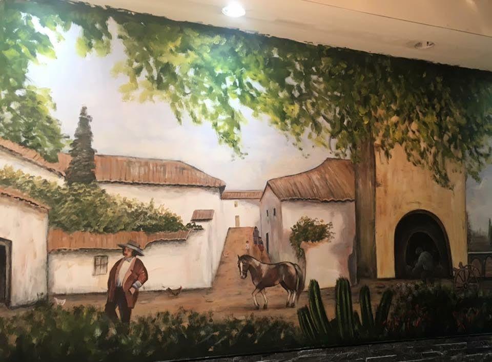 ציור של סוס ואיש