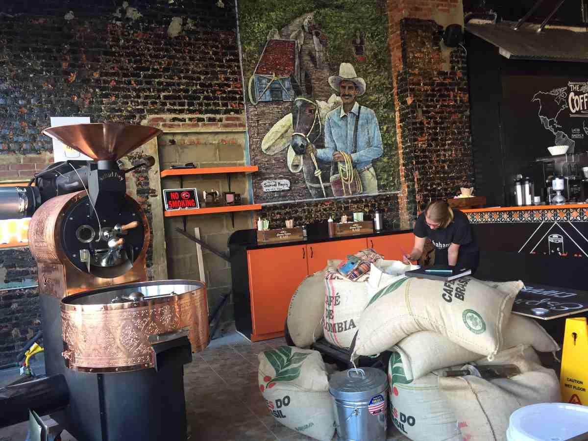 ציור קיר לבית קפה