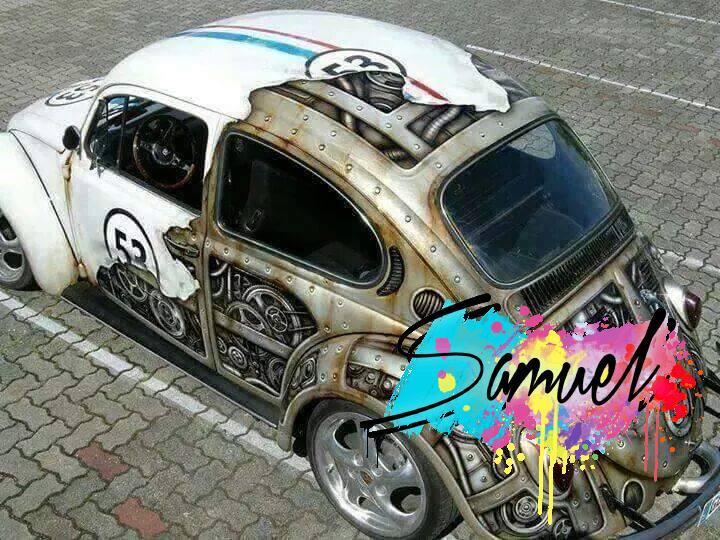 ציור על כלי רכב