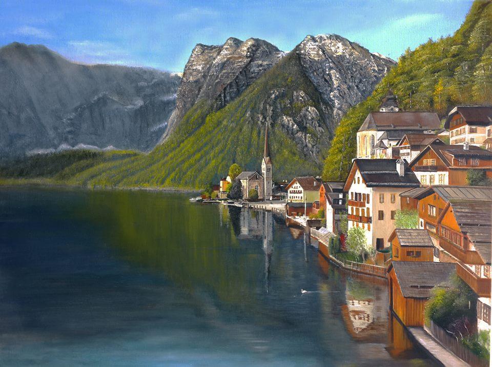 ציור שמן אוסטריה