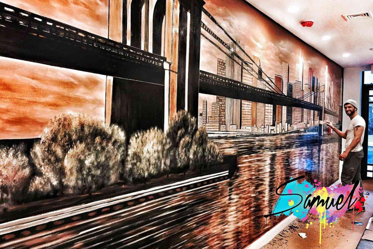 ציור קיר גדול