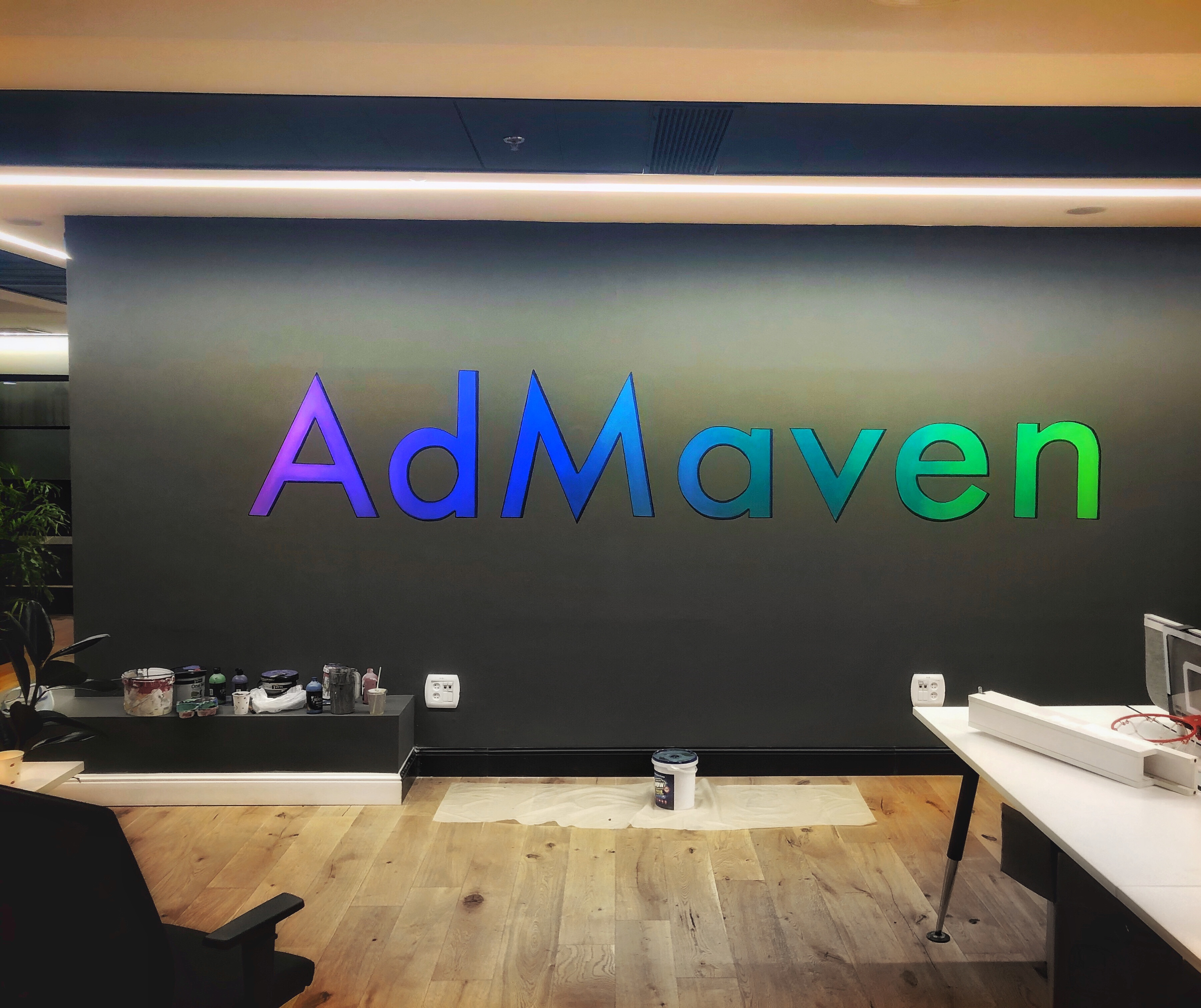 לוגו של חברת AdMaven