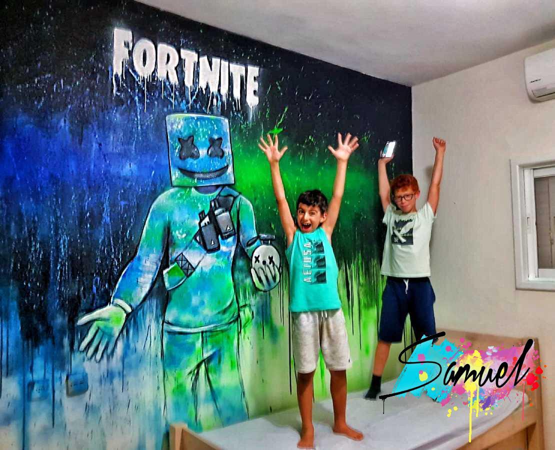 ציור של fortnite